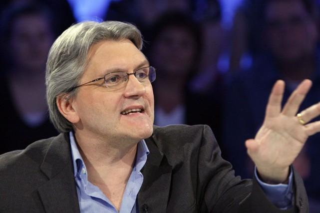 Richard Martineau estime que l'auditoire de Québec, «plus à droite», se... (Photo Radio-Canada)