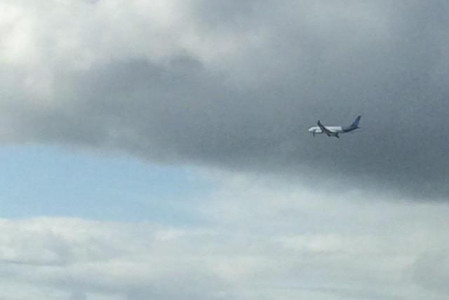 L'avion aux commandes duquel se trouvait le commandant Robert Piché lors de son... (Photo tirée de Twitter)
