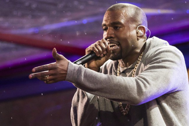 Kanye West... (PHOTO ARCHIVES LA PRESSE CANADIENNE)