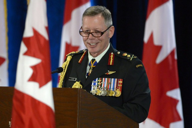 Le chef d'état-major de la Défense, Jonathan Vance.... (Photo d'archives Adrian Wyld, La Presse canadienne)