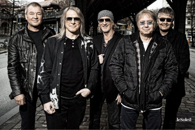 Deep Purple sera sur les Plaines ce soir.... (Photothèque Le Soleil)