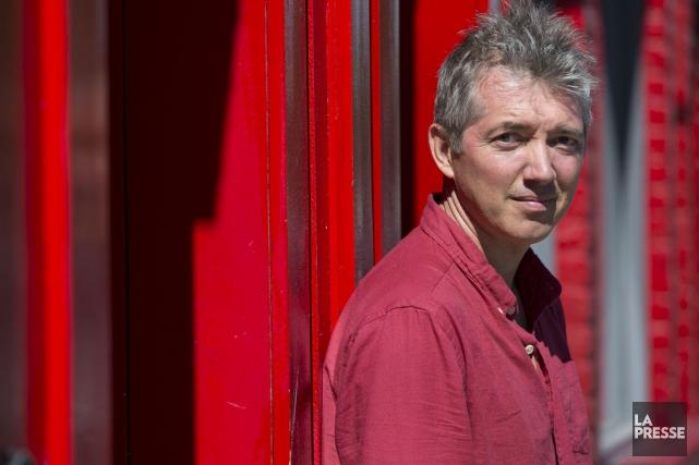 Simon Roy, gagnant du Prix des libraires pour... (PHOTO FRANÇOIS ROY, ARCHIVES LA PRESSE)