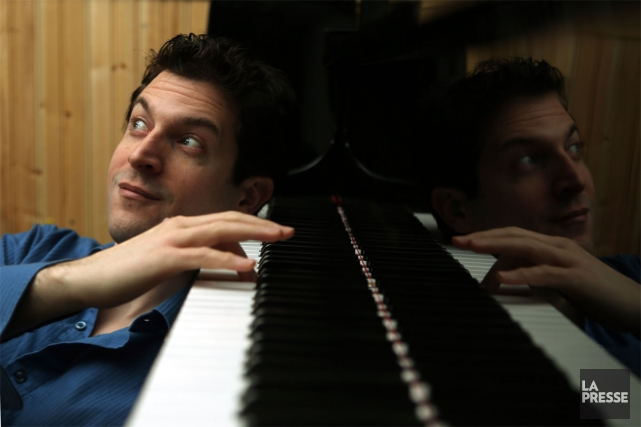 Le pianiste de jazz John Roney, qui se... (PHOTO MARTIN CHAMBERLAND, LA PRESSE)