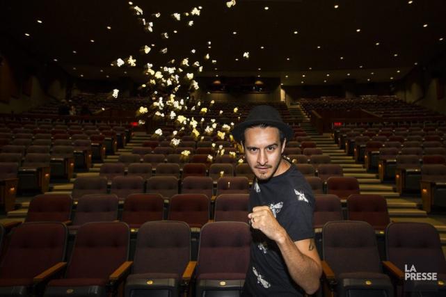 Sébastien Diaz est allé voir le film Kung... (PHOTO OLIVIER PONTBRIAND, LA PRESSE)