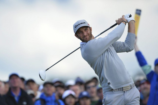 Dustin Johnson... (PHOTO GLYN KIRK, AFP)
