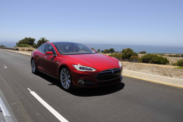 La Tesla Model S... (PHOTO FOURNIE PAR TESLA)