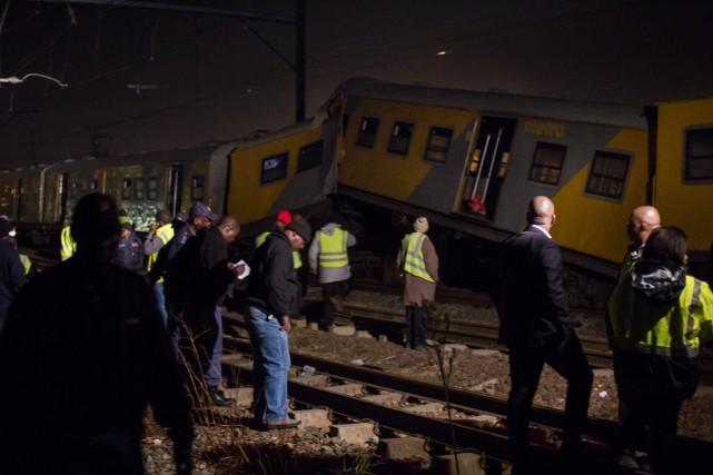 Certains passagers ont été soignés directement dans des... (Photo Jacques Nelles, AP)