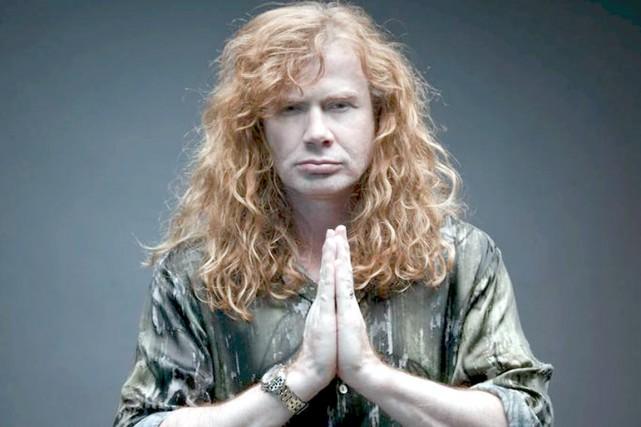 Le guitariste et chanteur de Megadeth, Dave Mustaine,...