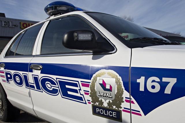 Deux frères ont été arrêtés par le Service de police de Laval jeudi soir pour... (Photo Patrick Sanfaçon, archives La Presse)