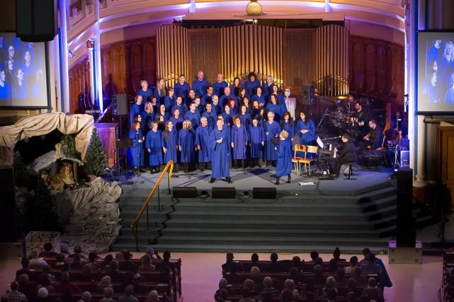 Le Choeur Expérience Gospel sera en spectacle dans... (- photo courtoisie)
