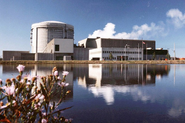 À la centrale nucléaire Point Lepreau, au Nouveau-Brunswick,... (PHOTO ARCHIVES PC)