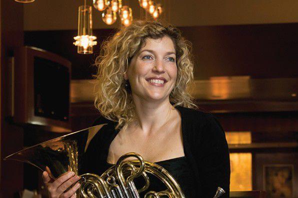 La corniste Julie Fauteux... (Courtoisie, CNA)