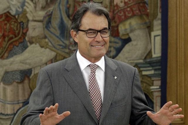 Le président catalan indépendantiste, Artur Mas.... (Photo Andrea Comas, Reuters)