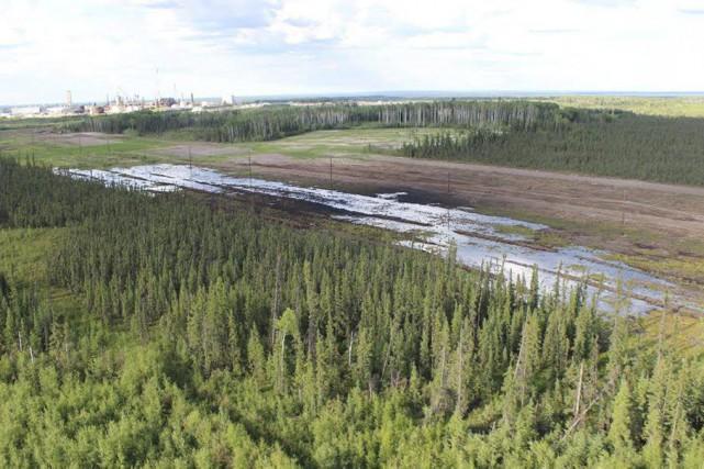 Le bris de l'oléoduc survient quelques mois seulement... (Photo Reuters)