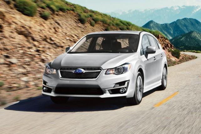 La Subaru Impreza 5 portes 2015... (PHOTO FOURNIE PAR SUBARU)