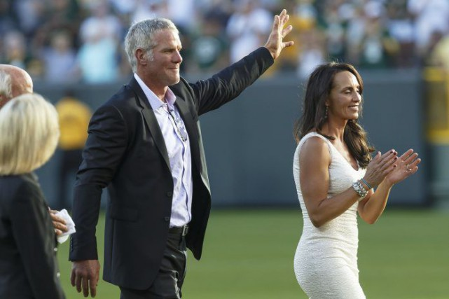 Brett Favre.... (Photo Mike Roemer, archives AP)