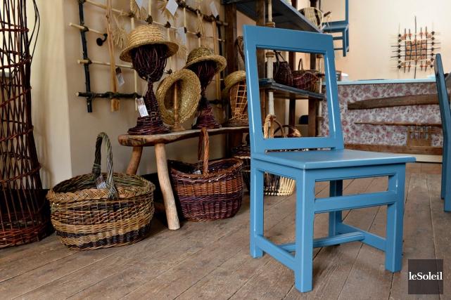 La nouvelle boutique du Manoir Mauvide-Genest, à l'île... (Le Soleil, Patrice Laroche)
