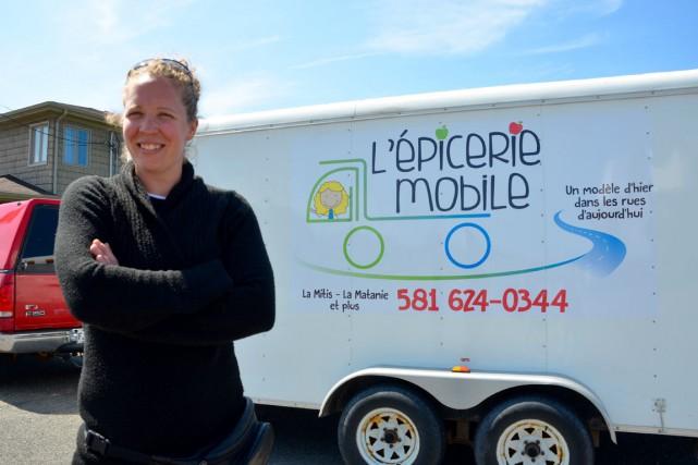 Avec L'Épicerie mobile, Sarah Moysan répond à un... (Collaboration spéciale Johanne Fournier)