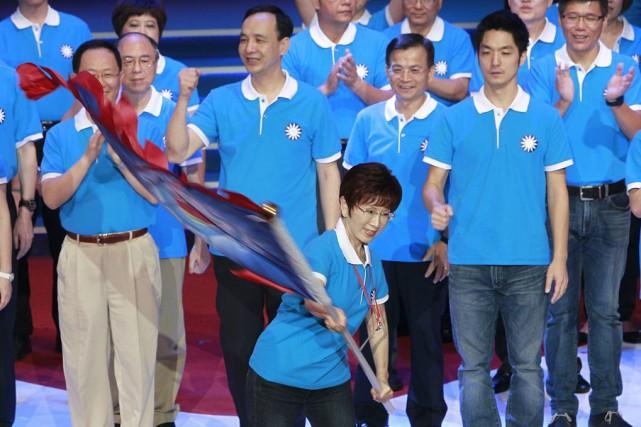 Le Parti nationaliste, présentement au pouvoir, a élu... (Photo Chiang Ying-ying, AP)