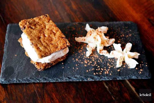 Sandwich Le délice de Lucie du Chic Shack.... (Le Soleil, Erick Labbé)