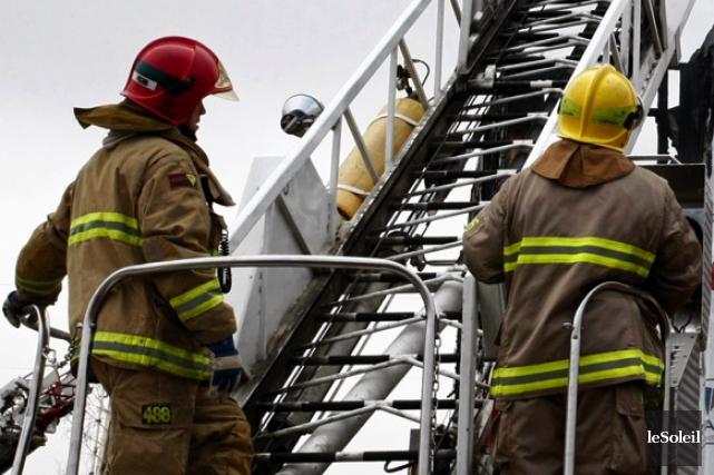 Les pompiers de Québec ont reçu un appel... (Photothèque Le Soleil)