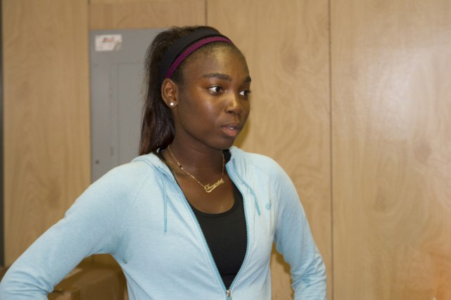 Françoise Abanda avait atteint les demi-finales, il y... (photo archives challenger de granby)