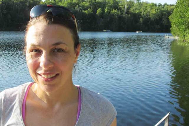 Caroline Brunet, qui a longtemps eu le lac... (Photothèque Le Soleil)