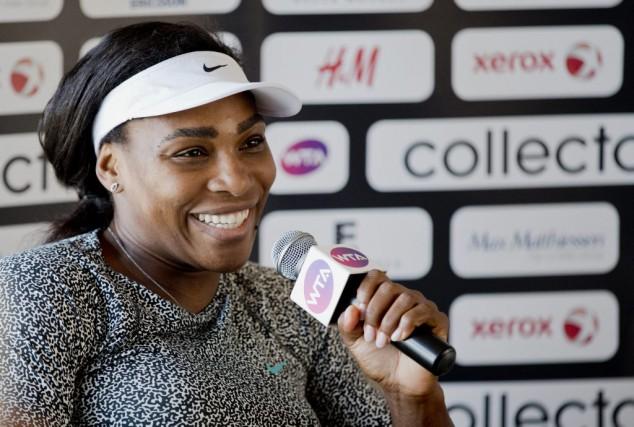 Serena Williams... (PHOTO ADAM IHSE, AP)