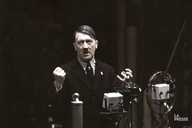 Le livreAdolf Hitler: sa vie et ses discours,... (Archives La Presse)