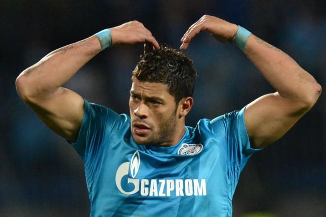 Hulk, le joueur le plus onéreux de l'histoire... (PHOTO KIRILL KUDRYAVTSEV, ARCHIVES AFP)