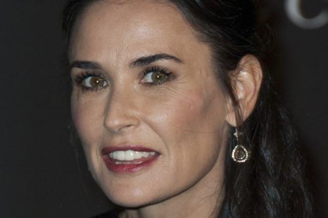 L'actrice Demi Moore s'est dite sous le choc et attristée à la suite du décès... (PHOTO ARCHIVES AFP)