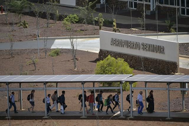«Ici, tout fonctionne avec de l'énergie renouvelable», souligne,... (PHOTO AFP)