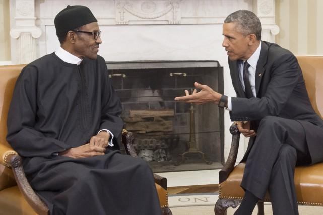 Le président américain Barack Obama a affiché lundi... (PHOTO SAUL LOEB, AFP)