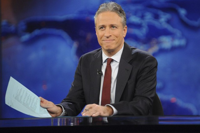 Jon Stewart... (PHOTO ARCHIVES AP)