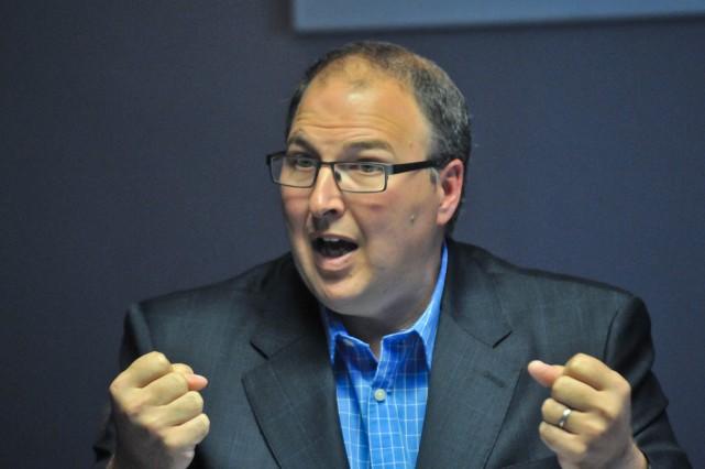 Martin Beaumont, président-directeur général du Centre intégré universitaire... (Photo: Émilie O'Connor)