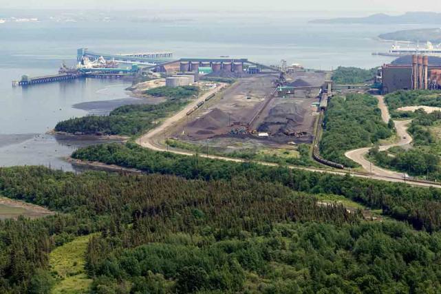 Dans un communiqué, l'État québécois a annoncé avoir... (Photo fournie par Le Port de Sept-Îles)