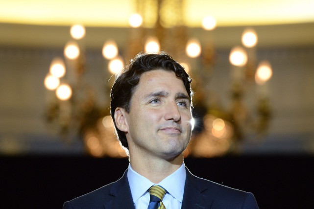 Le chef du Parti libéral du Canada,Justin Trudeau.... (PHOTO SEAN KILPATRICK, LA PRESSE CANADIENNE)