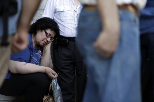Pour une professeure d'économie, on peut difficilement imaginer un meilleur... (Photo AP)