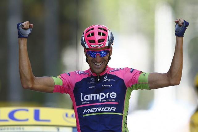 Le cycliste espagnol Rubet Plaza Molina n'a pas... (Reuters)