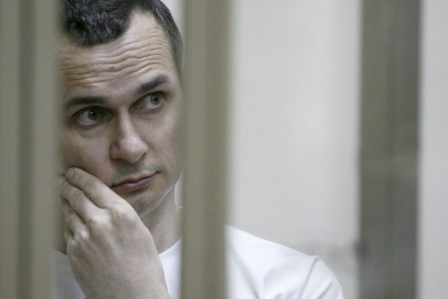 Oleg Sentsov... (PHOTO AFP)