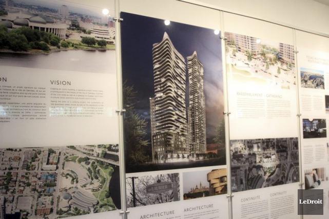 Brigil compte construire deux tours dans le quartier... (Etienne Ranger, Archives LeDroit)