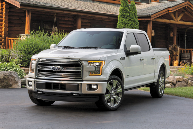 Le Ford F-150 Limited... (Photo fournie par Ford)
