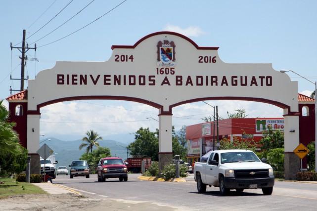 À Badiraguato, la ville administrant le village qui... (PHOTO ROBERTO ARMENTA, REUTERS)
