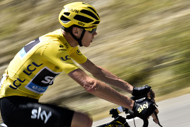 Chris Froome... (Photo Jeff Pachoud, archives AFP)