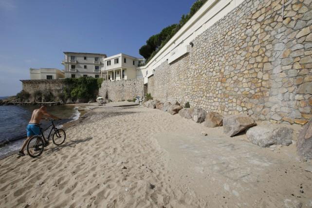 La famille royale saoudienne possède une propriété qui... (PHOTO VALÉRY HACHE, AFP)