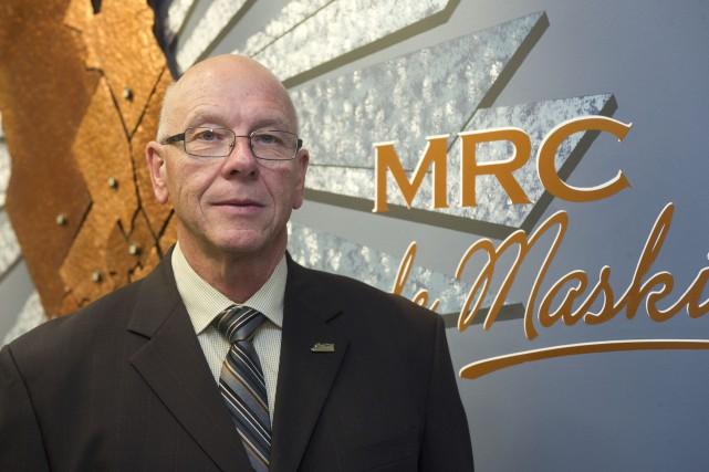 Claude McManus est le maire de Saint-Mathieu-du-Parc.... (photo: Stéphane Lessard)