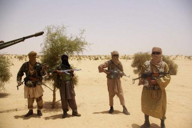 Le nord du Mali était tombé en mars-avril... (Photo AP)
