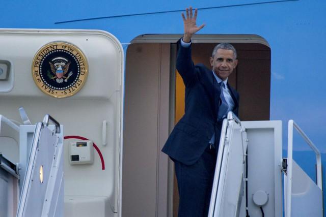 Barack Obama... (Photo Craig Ruttle, AP)