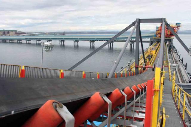 Le quai multiusager du Port de Sept-Îles doit... (Collaboration spéciale Fanny Lévesque)