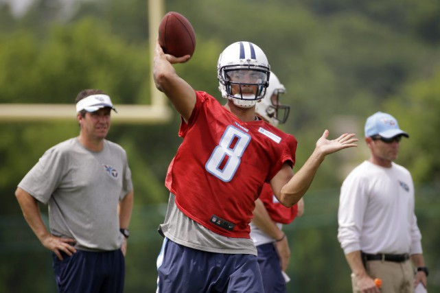 Marcus Mariota... (Photo Mark Humphrey, archives AP)
